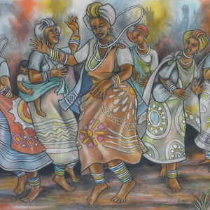 Women Dancing In Bliss