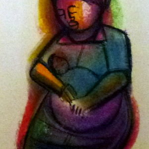 Woman (new painting)