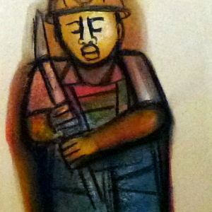 Miner (new painting)
