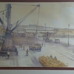 Port Elizabeth Harbor - circa 1921